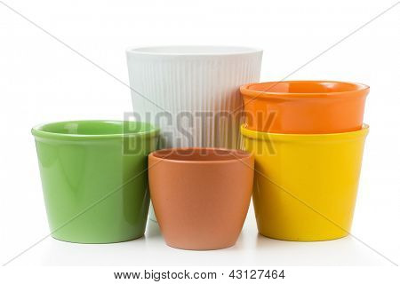 Set Of Decorative Flower Pots