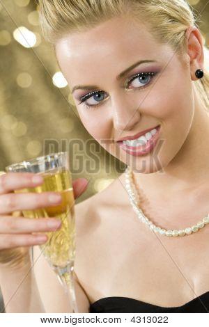Champagner Feier