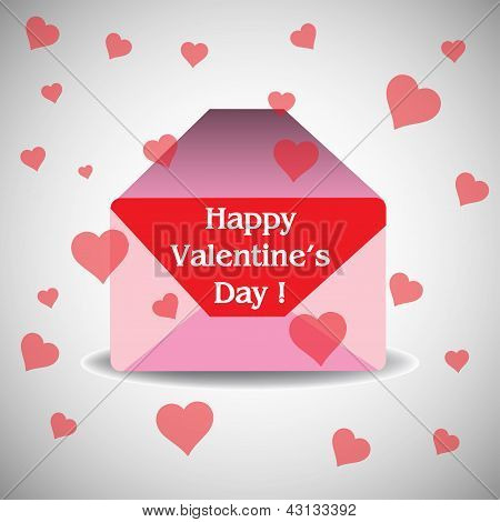 Valentine's Day envelope