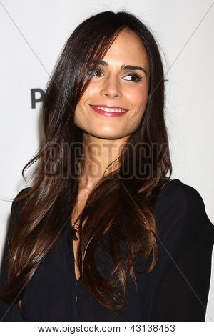 """LOS ANGELES - MAR 10:  Jordana Brewster arrives at the  """"Dallas"""" PaleyFEST Event at the Saban Theater on March 10, 2013 in Los Angeles, CA"""