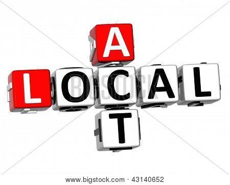 3D Act Local Crossword