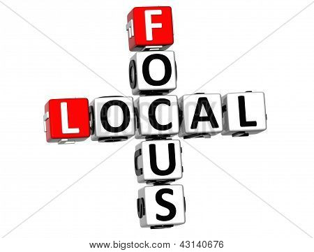 3D Local Focus Crossword