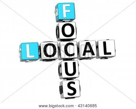3D Local Focus Crossword