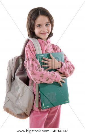 Adorable Student Girl