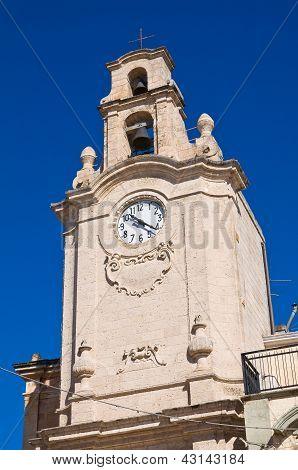 Clocktower. Massafra. Puglia. Italy.