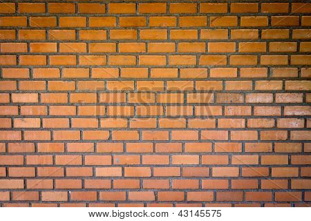 Front View Texture Brick Wall