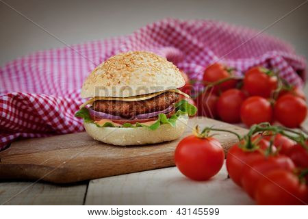 Delicious Hamburger