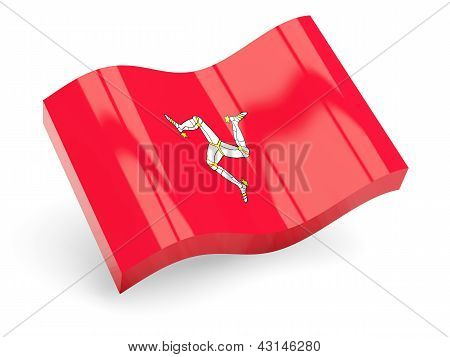 3d flag of isle of man