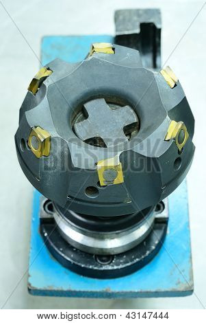 Big Face Milling Tool Of Computer Nc Machine