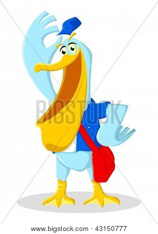 Pelican Postman