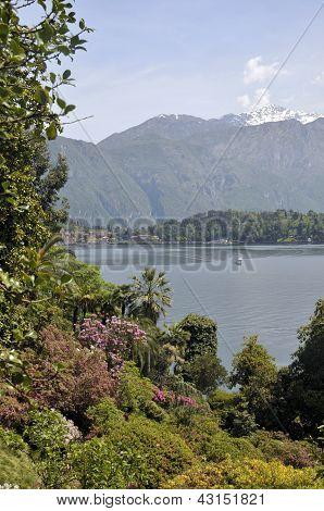 Lake Como from Villa Carlotta