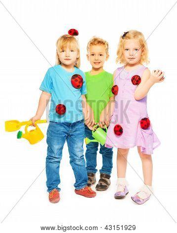 Ready For Spring Little Kids