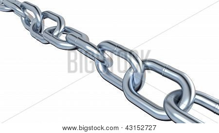 One Metallic Chain
