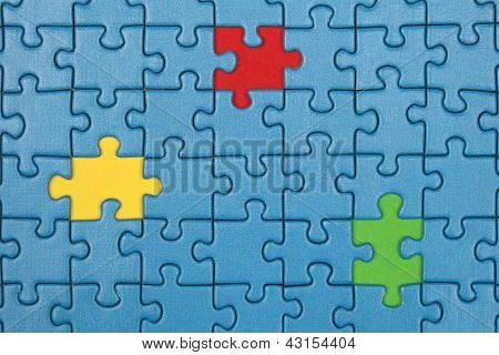 Missing Pieces In A Puzzle