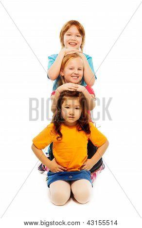 Line Of Kids