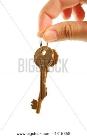 Übergabe Schlüssel