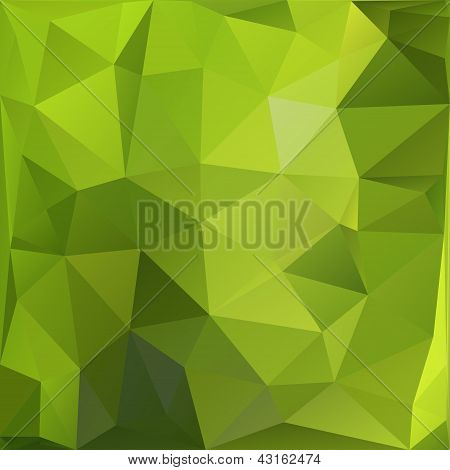 Geometric triangular mosaics background