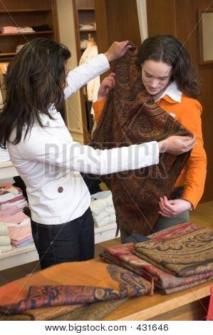 Meninas de compras