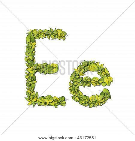 Leaf Font E