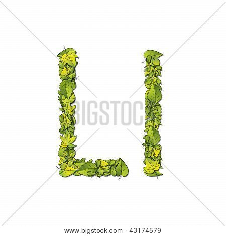 Leaf Font L