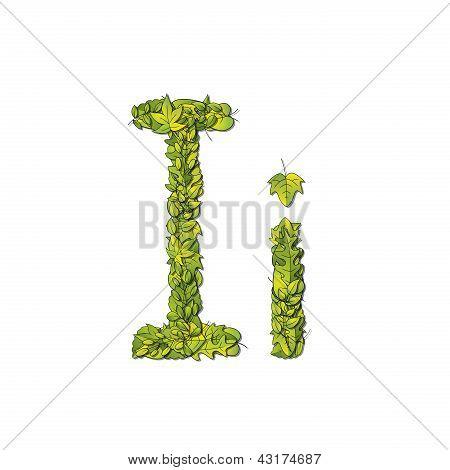 Leaf Font I