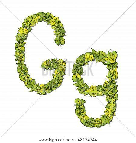 Leaf Font G