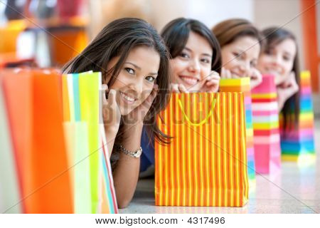 Amigos de compras