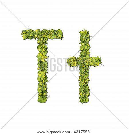Leaf Font T
