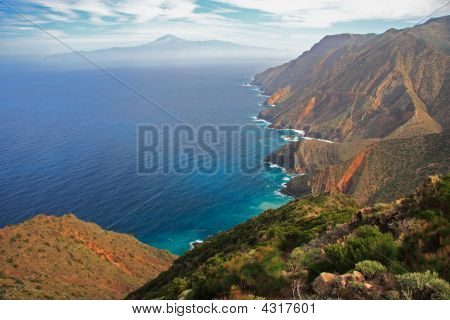 Tenerife Seen From Gomera