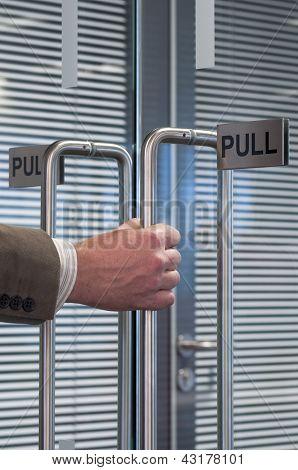 Pull Open The Door