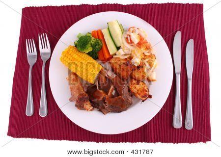 Roast Dinner Full Setting