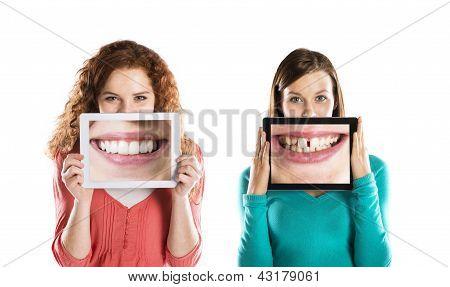 lustige Porträts