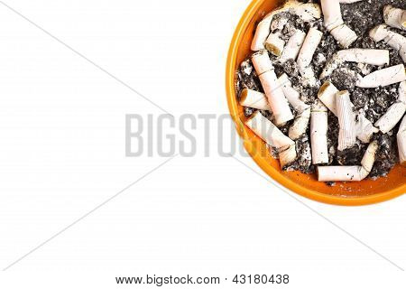 Ashtray And Cigarettes