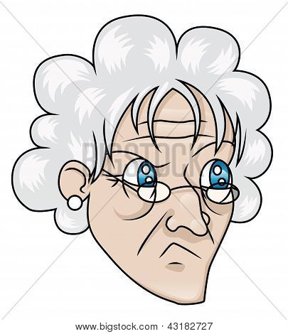 Suspicious Old Woman