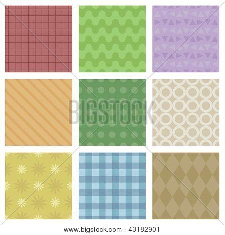Pastel Pattern Set