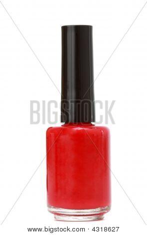 roten Nagellack