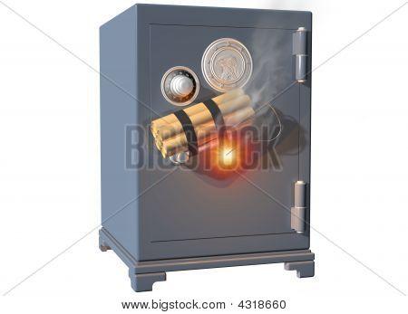 Soplar la caja fuerte