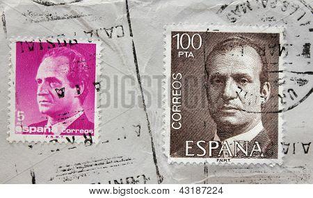 King Juan Carlos Stamps