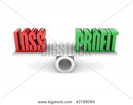Oposición de pérdidas y ganancias.