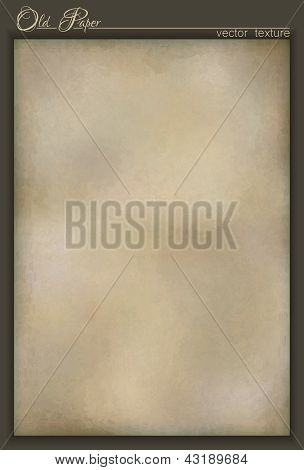 Vector Vintage Old Paper Texture Background Design