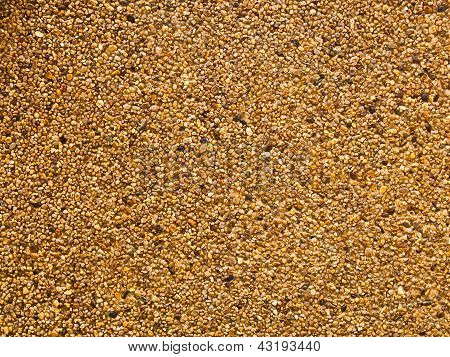 Texture Of Washed Gravel As Background