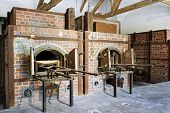 picture of nazi  - A couple of ovens in the Dachau concentration camp memorial - JPG