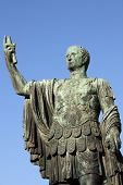 picture of tyranny  - Statue of emperor Nerva in Rome - JPG