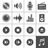 picture of monogram  - Music and sound icons - JPG