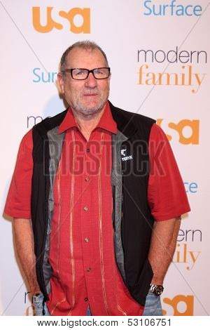 LOS ANGELES - OCT 28:  Ed O'Neill at the Modern Family on USA Network Fan Appreciation Event at Village Theater on October 28, 2013 in Westwood, CA