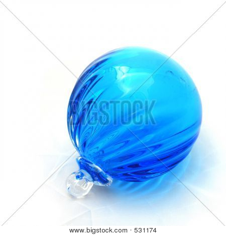Blue Ridged Ornament