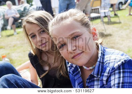 Girls At Festival