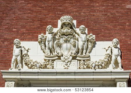 Classic Outdoor Bas-relief