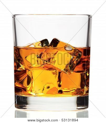 whiskey on the rock