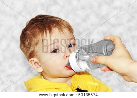 Feeding A Baby.